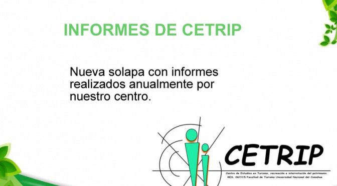 Informes de CETRIP