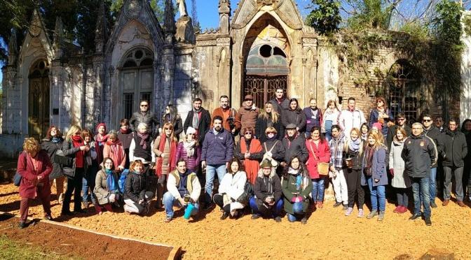 Participación en las IX Jornadas de la Red Argentina de Valoración y Gestión Patrimonial de Cementerios